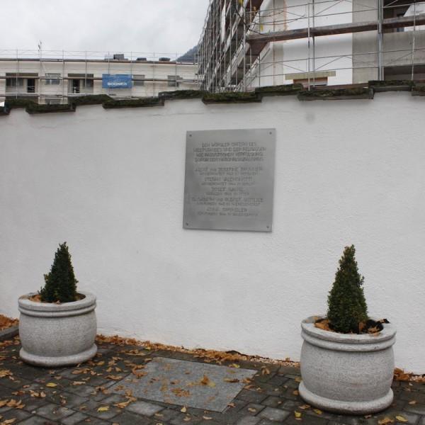 Neue Gedenktafel für NS-Opfer