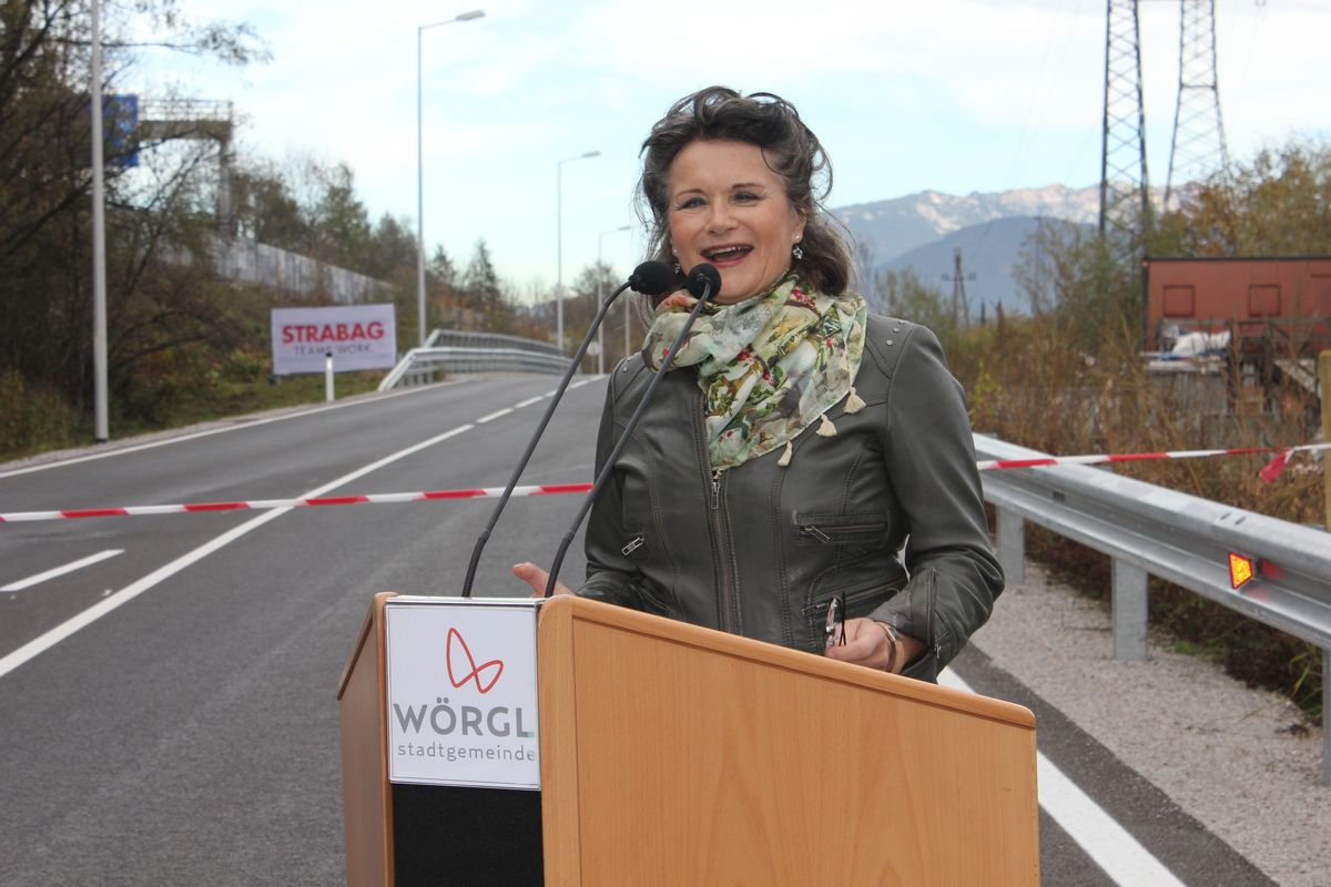 Nordtangente Anbindung Wörgl Mitte - Eröffnungsfestakt am 28.10.2015