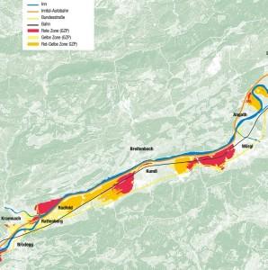 Gefahrenzonenplan - Hochwasserschutz November 2015 - Abbildung Land Tirol