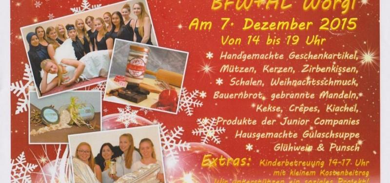 Weihnachtsmarkt an der BFW+AL Wörgl