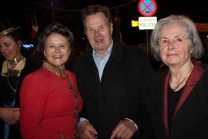 Auch Alt-NR Dr. Sixtus Lanner und Gattin Angela gratulierten Hedi Wechner zum 60er.