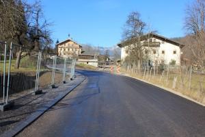 Brixentaler Gemeindestraße in Wörgl