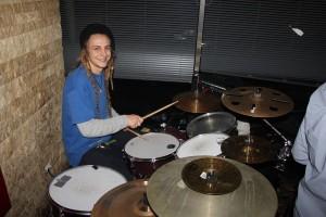 Boomerang-Drummer Christian Spielbichler.