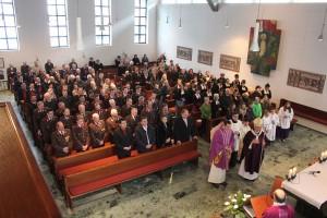 Erzbischof Franz Lackner am 28.2.2016 in Bruckhäusl - Erzbischöfliche Visitation