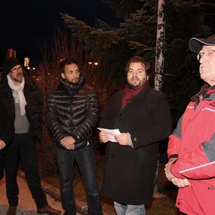 Gedenkfeier für Opfer des Faschismus in Wörgl 2016