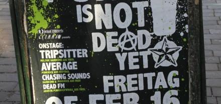Punk is not dead - Konzert am 5.2.2016 im Komma Wörgl.