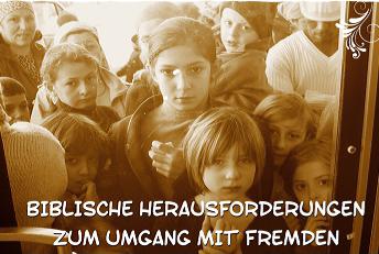 "Wanderausstellung ""Gott hat den Fremdling lieb"". Foto: privat"