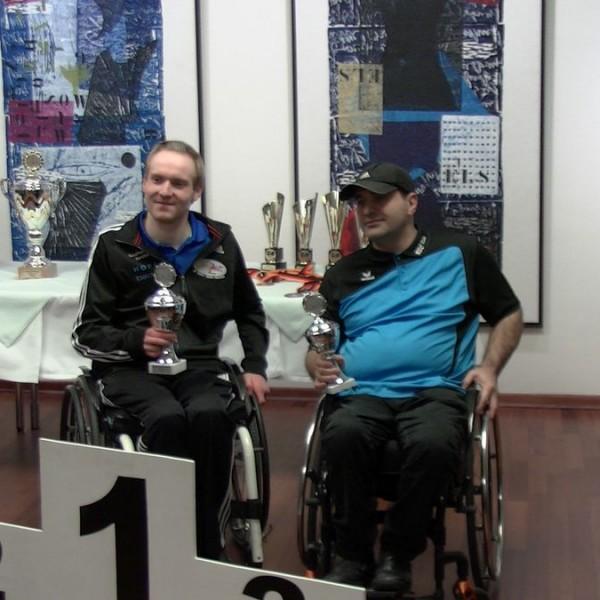 Daniel Pauger (links) bei der Siegerehrung. Foto: RSCTU