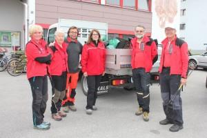 Die Tiroler Bergfreunde durchkämmten den Süden von Wörgl und waren u.a. am Zauberwinklweg und am Eisstein unterwegs.