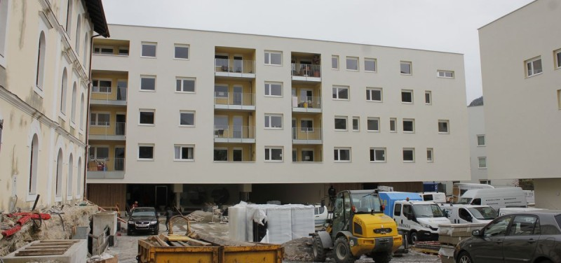 Wohnanlage Gradl-Areal Wörgl April 2016