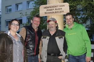 Maibaumaufstellen 2016 in Wörgl. Foto: Veronika Spielbichler