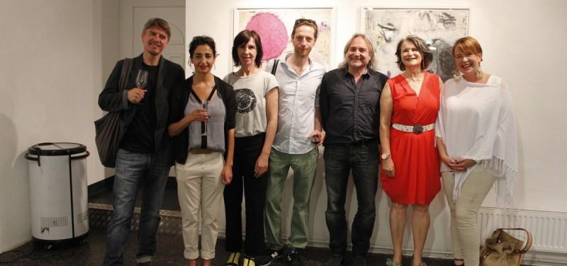 Ausstellung stop over - Galerie am Polylog Juni 2016. Foto: Veronika Spielbichler