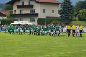 In Kirchbichl fand das vorletzte Spiel der Liga statt - der SV Wörgl holte sich den Sieg. Foto Unterland