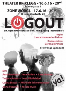 Jugendtheater-Gastspiele in Brixlegg und Wörgl. Grafik: YA! YoungActing