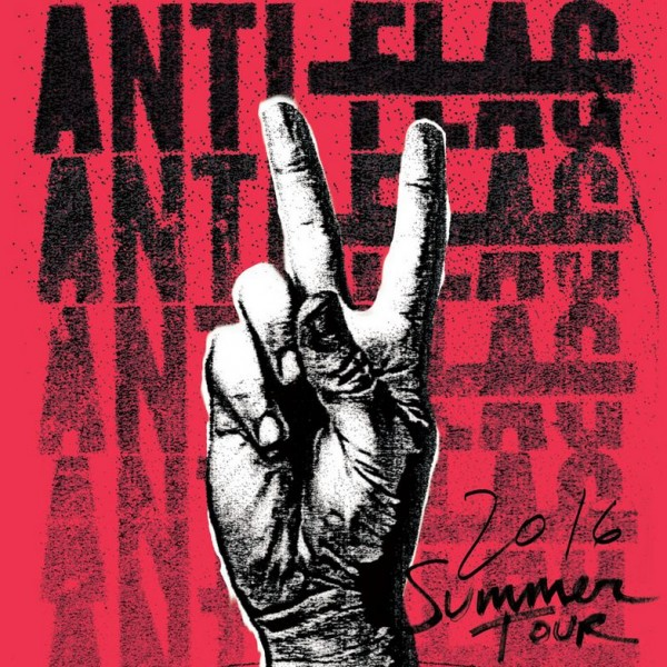 Anti Flag Summer Tour 2016