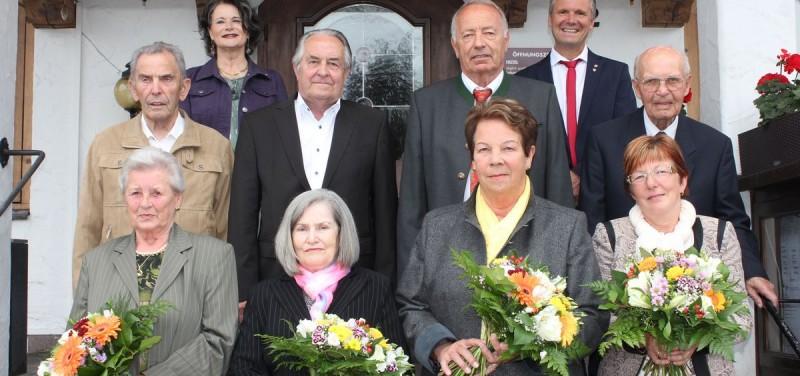 Jubelpaarfeier Wörgl am 31.5.2016. Foto: Veronika Spielbichler