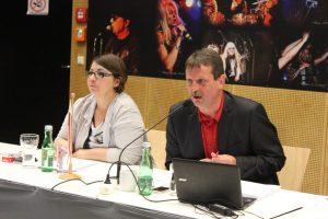 GR Jasmin Rentenberger und GR Dr. Andreas Taxacher.