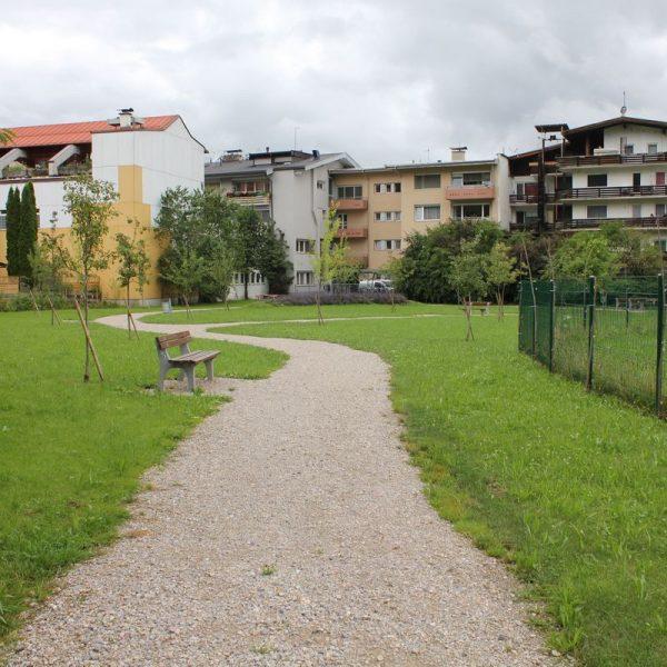 Stadtpark Fischerfeld Juli 2016. Foto: Veronika Spielbichler