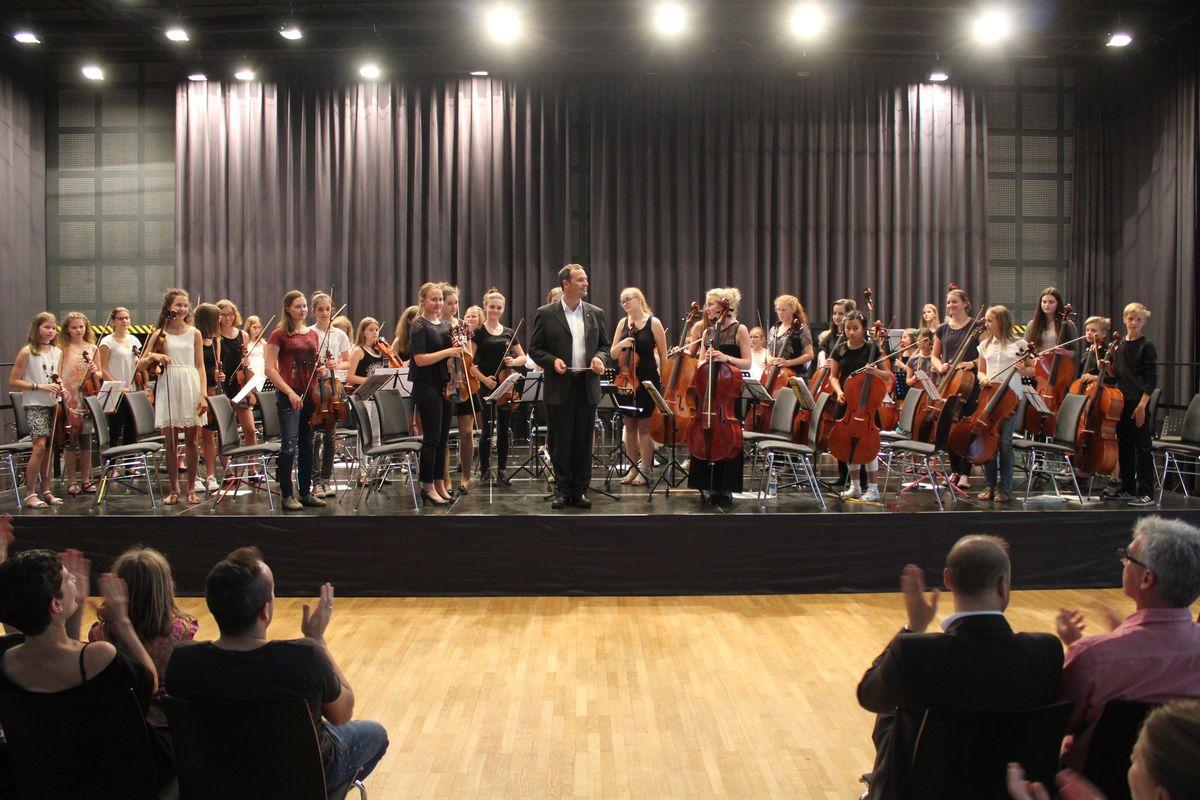 2.Tiroler Streich - Streicherpodium 2016. Foto: Veronika Spielbichler