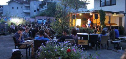 Kulturzone Poetry Slam August 2016. Foto: Veronika Spielbichler