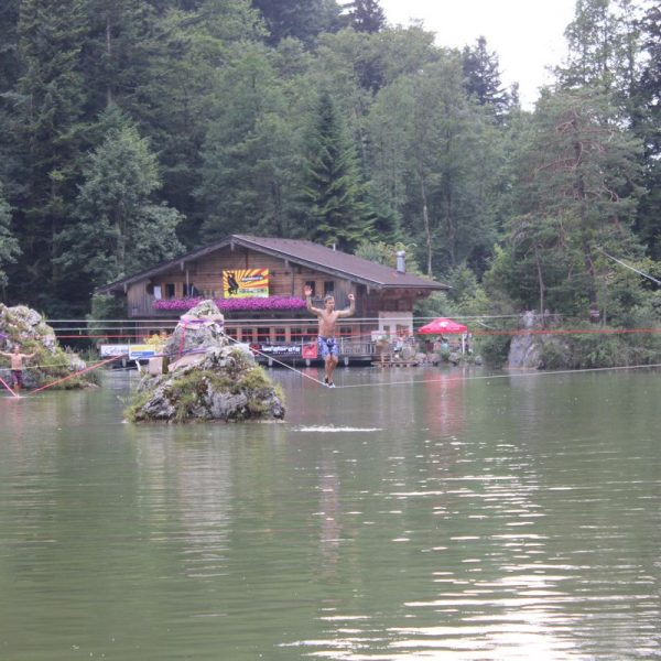 Wasserfest Berglsteinersee 2015. Foto: Veronika Spielbichler