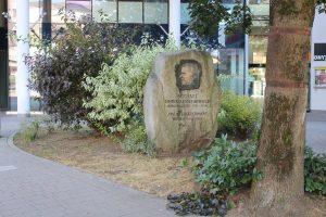 Unterguggenberger Denkmal Wörgl. Foto: Veronika Spielbichler