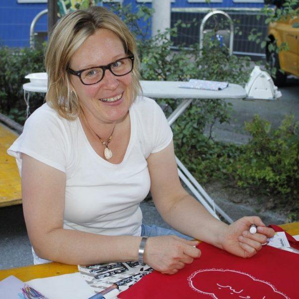 Angelika Trauner ist Ansprechpartnerin bei Komm!unity für den Bereich ehrenamtliche Flüchtlingsunterstützung.