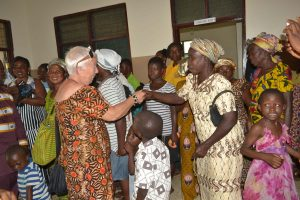 Eröffnung der neuen Krankenstation in Ntronang/Ghana. Foto: privat