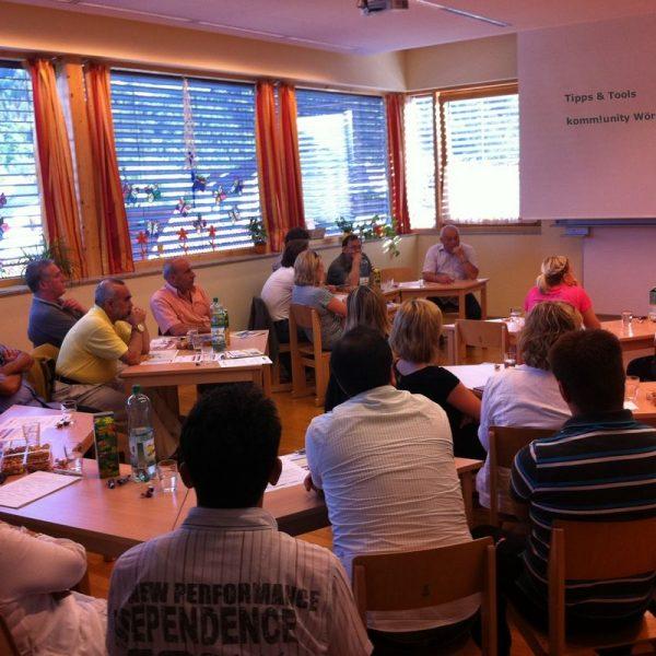 Komm!unity bietet im Oktober 2016 einen Fortbildungskurs für alle Ehrenamtlichen an, die bei Deutschkursen helfen wollen. Foto: Komm!unity