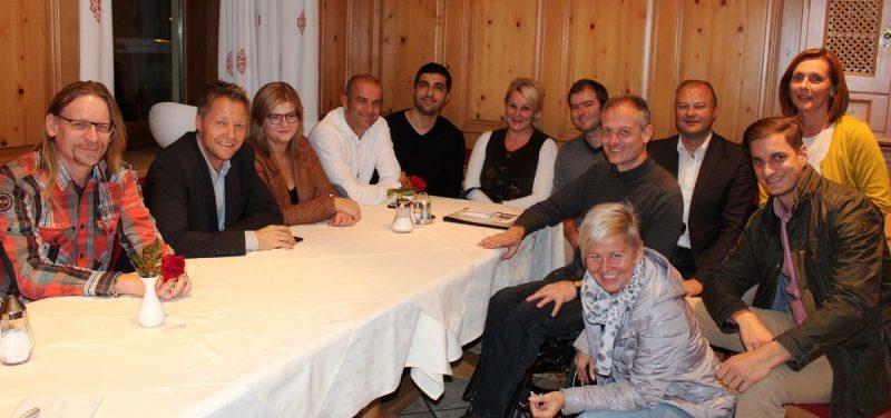 Erste offene Fraktionssitzung der Bürgerliste Wörgler Volkspartei am 11.10.2016. Foto: Veronika Spielbichler