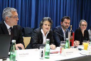 Öffentliche Gemeindeversammlung am 27.10.2016 im Komma Wörgl. Foto: Veronika Spielbichler