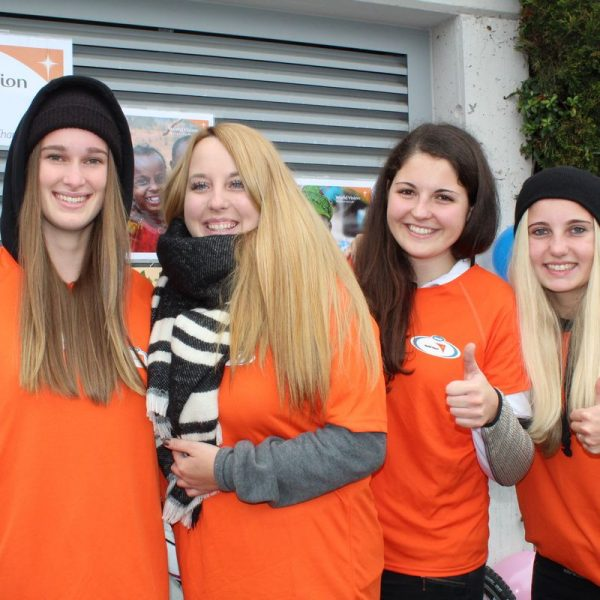 Spendenlauf - Diplomarbeit BFW+AL Wörgl Oktober 2016. Foto: Veronika Spielbichler
