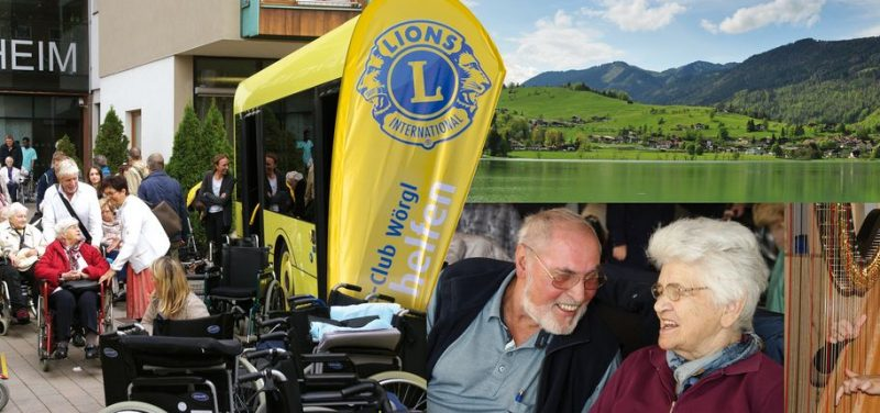 Der Lions Club Wörgl organisierte für BewohnerInnen des Wörgler Seniorenheimes einen Ausflug nach Thiersee. Foto: Lions Club Wörgl