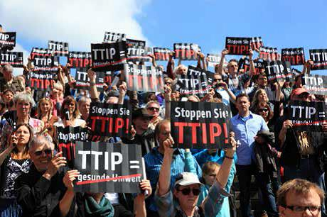 TTIP - Bürgerproteste gehen weiter. Foto: GBW
