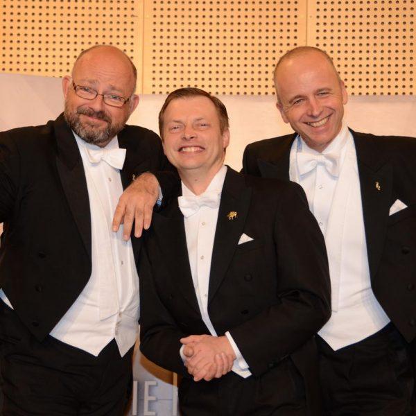 Die Herren Wunderlich sind beim Benefizkonzert am 25.11.2016 im Komma dabei. Foto: Hermann Nageler