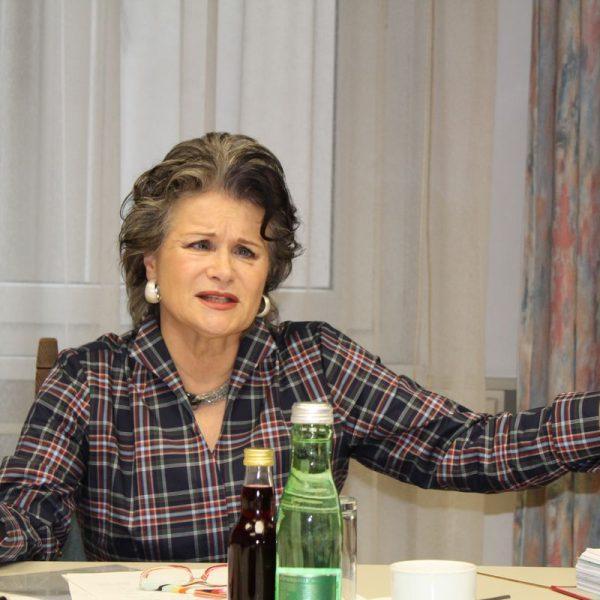 Bürgermeisterin Hedi Wechner bei der Pressekonferenz am 16.11.2016. Foto: Veronika Spielbichler