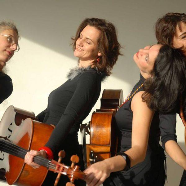 eXtracello spielt am 7. Jänner 2017 beim Neujahrskonzert in Itter. Foto: eXtracello