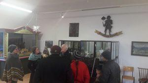 Museumsführung mit Hans Gwiggner. Foto: Komm!unity
