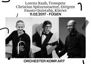 Konzertankündigung Orchester KOMP.ART.
