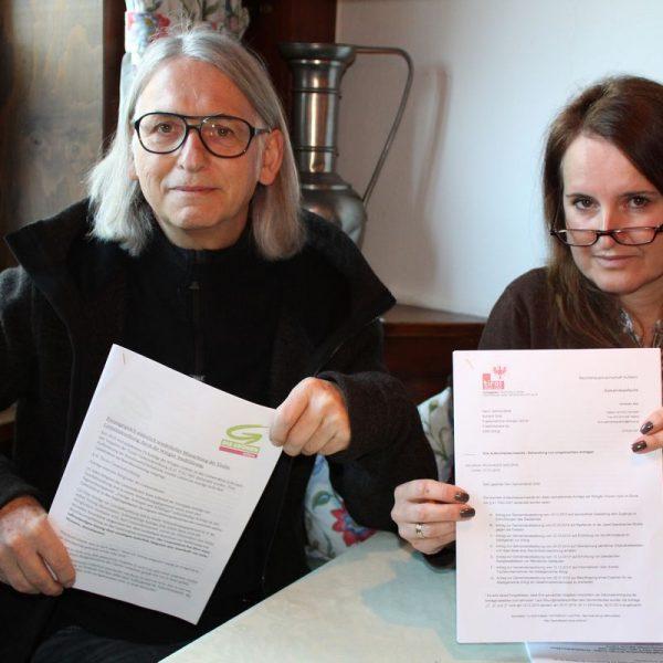 Pressekonferenz Wörgler Grüne am 15.2.2017. Foto: Veronika Spielbichler