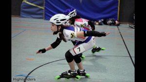 Ivona Matkovic – siegte im Sprint über 2 Runden – Foto Highlanders