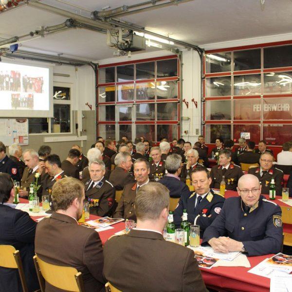 Jahreshauptversammlung Freiwillige Feuerwehr Bruckhäusl 2017. Foto: Wilhelm Maier