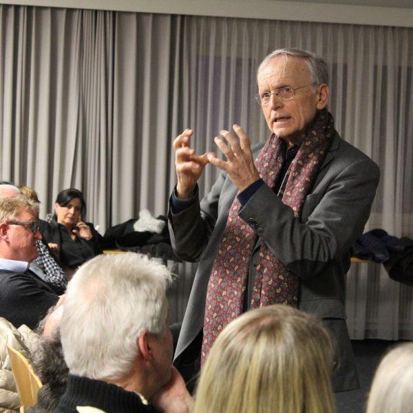 Minerva Vortrag Prof. Dr. Paul Michael Zulehner am 14.2.2017. Foto: Veronika Spielbichler