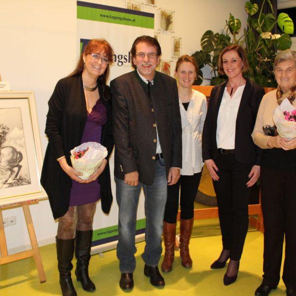 Vernissage Nikolaus Kurz 3.2.2017 im Tagungshaus Wörgl. Foto: Veronika Spielbichler
