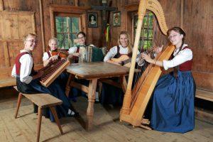 Die Familienmusik Rohregger aus Brandenberg. Foto: Familienmusik Rohregger