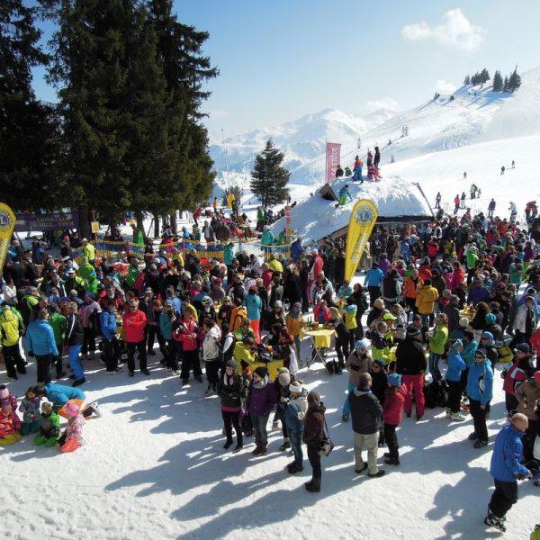 Am 18. März 2017 lädt der Lions Club Wörgl wieder zum Schneefest am Schatzberg in der Wildschönau. Foto: Lions Club Wörgl