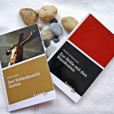 """Das Tagungshaus Wörgl lädt zu Lesung und Diskussion mit den Autoren der beiden Bücher """"Der Folterknecht Gottes"""" und """"Zur Hölle mit den Bürokraten"""". Foto: Tagungshaus Wörgl"""