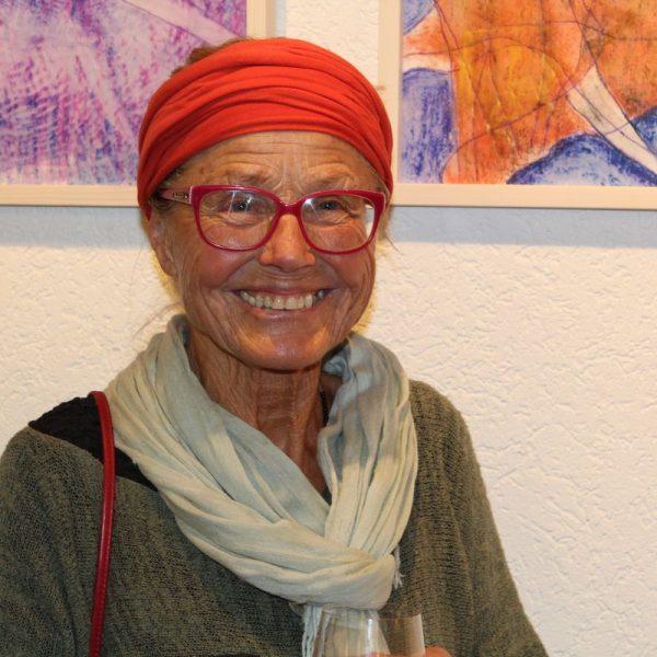 Vernissage BEZIEHUNG LEBEN mit Brigitte Gmach an der BFW+AL Wörgl 17.3.2017. Foto: Veronika Spielbichler