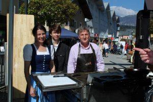 Wörgler Bauernmarkt-Festl am 8. April 2017. Foto: Veronika Spielbichler