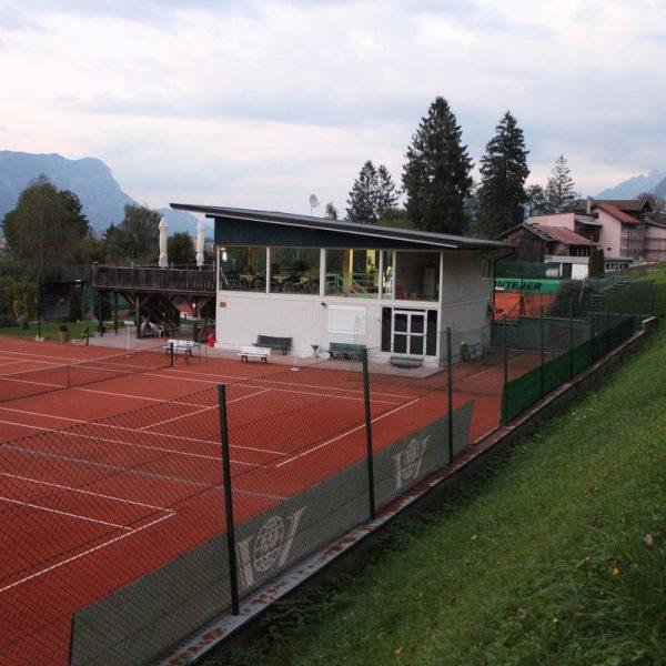 Tennisplatz Bad Eisenstein. Foto: Veronika Spielbichler